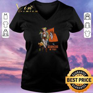 Original Harley Quinn flag Denver Broncos Of Prey shirt sweater