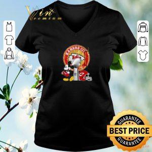 Original Mickey Mouse and Kansas City Chiefs Champions Super Bowl shirt sweater