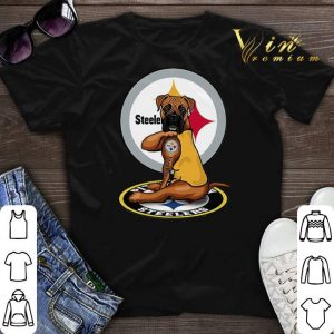 Pitbull tattoo Pittsburgh Steelers shirt sweater