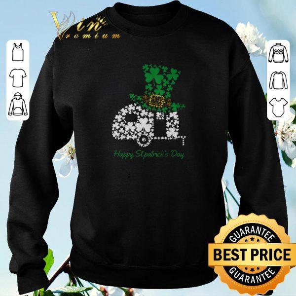 Premium Camping Shamrock Irish St Patricks Day shirt sweater