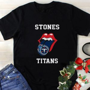 Premium The Rolling Stones Logo Tennessee Titans shirt