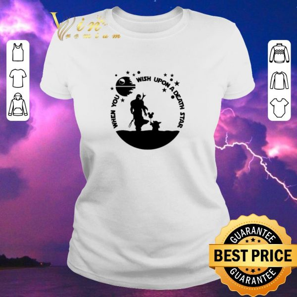 Pretty The Mandalorian When you wish upon a Death Star Wars shirt sweater