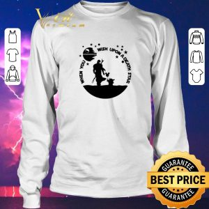 Pretty The Mandalorian When you wish upon a Death Star Wars shirt sweater 2