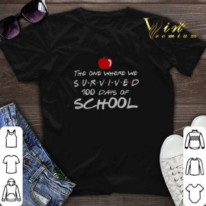 The One Where We Survived 100 Days Of School Friends shirt sweater