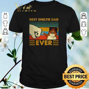 Top Best Sheltie dad ever vintage shirt sweater