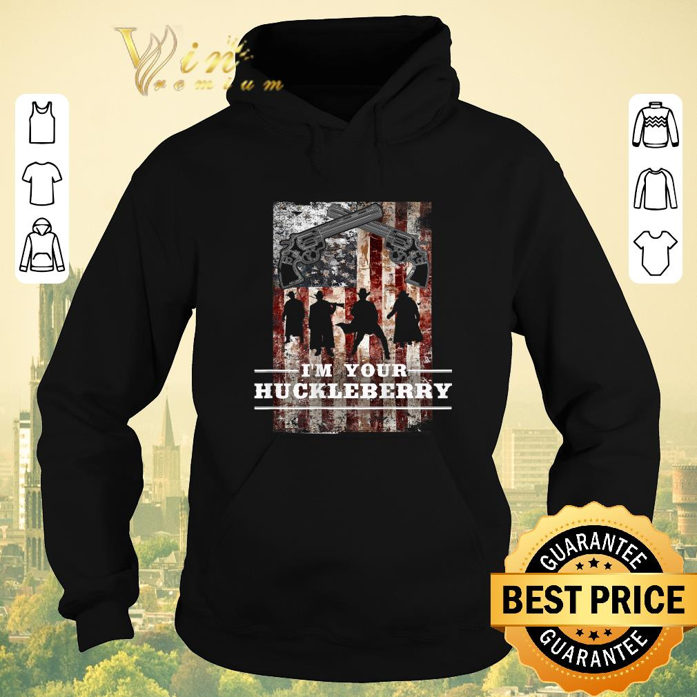 Top Revolver gun I m your Huckleberry American Flag shirt sweater 4 - Top Revolver gun I'm your Huckleberry American Flag shirt sweater