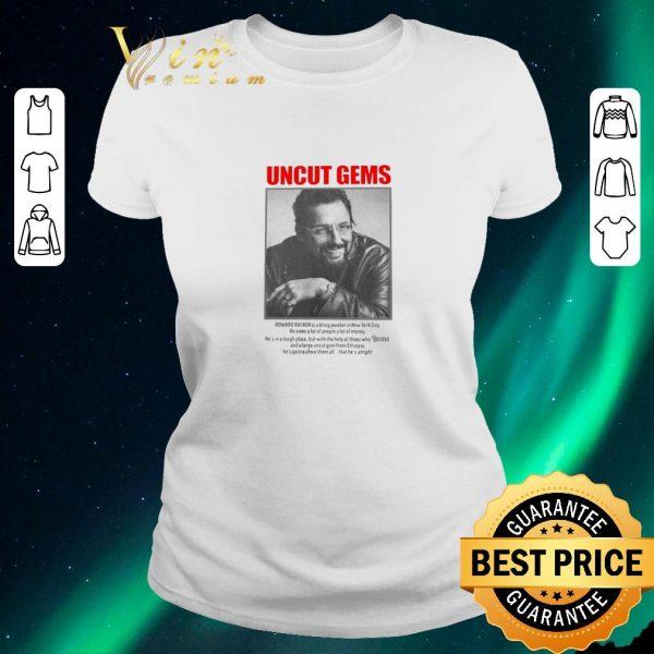 Top Uncut Gems Howard Ratner shirt sweater