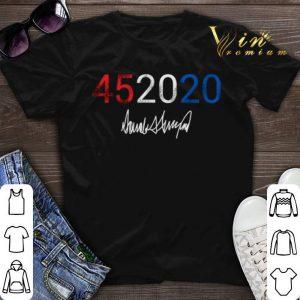 45 2020 Donald Trump signature shirt sweater