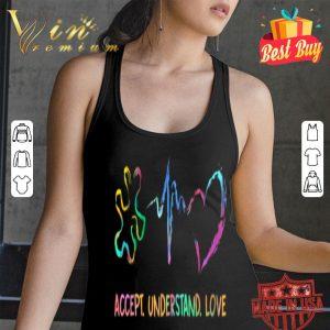 Accept Understand Love Puzzle Piece Autism Awareness shirt