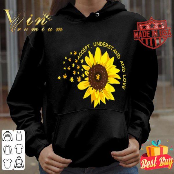 Accept Understand Love Sunflower Autism for Men Women shirt