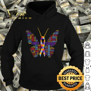 Autism Awareness Butterfly Puzzle Piece Support Gift shirt