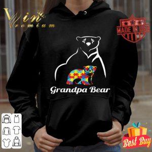 Autism Awareness Grandpa Bear Gift shirt