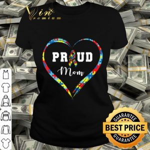 Autism Proud Mom Puzzle Heart, Autism Awareness Day shirt