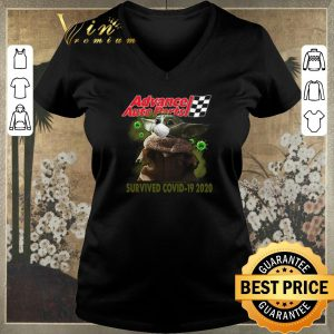 Awesome Baby Yoda Advance Auto Parts Survived Covid 19 2020 shirt sweater