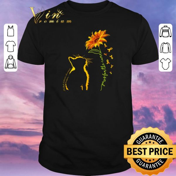 Awesome Cat you are my sunshine sunflower autism shirt