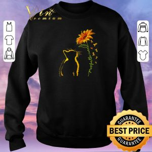 Awesome Cat you are my sunshine sunflower autism shirt 2