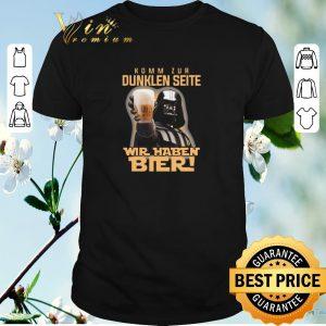 Awesome Darth Vader komm zur dunklen seite wir haben bier Star Wars shirt sweater