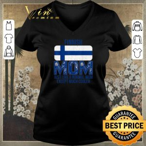 Awesome Finland Flag Finnish mom Mother's Day shirt sweater 1