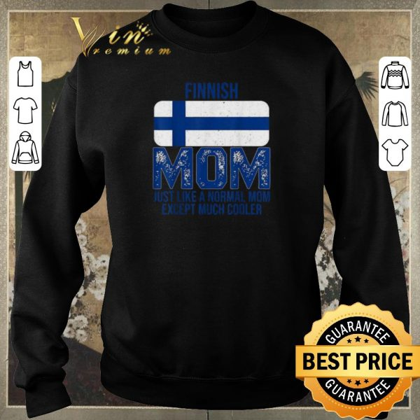Awesome Finland Flag Finnish mom Mother's Day shirt sweater