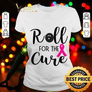 Bowling Novelty Gift for Bowler Team Breast Cancer Support shirt