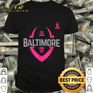 Breast Cancer Awareness Baltimore Football Men Women shirt