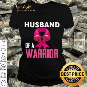 Breast Cancer Awareness - Husband of a Warrior shirt