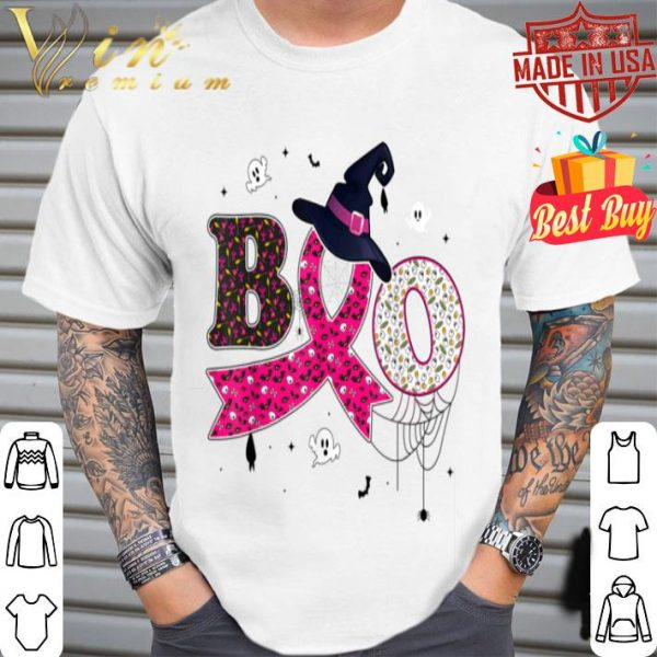 Breast Cancer Pink Ribbon Halloween Costume Gifts shirt