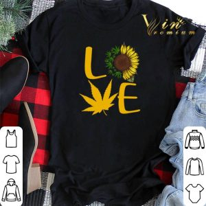 Cannabis sunflower love shirt sweater