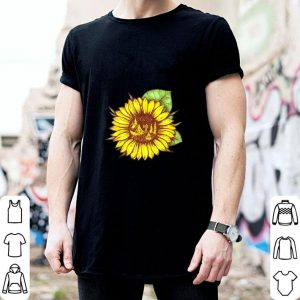 Cheap Camping and sunflower shirt