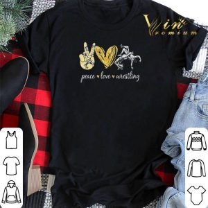 Diamond Peace love wrestling shirt sweater