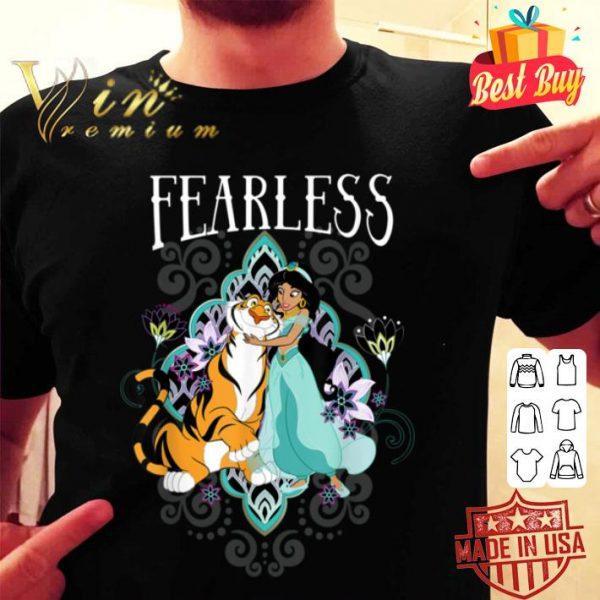 Disney Aladdin Jasmine And Rajah Fearless shirt
