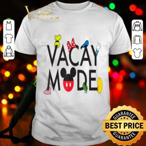 Disney Characters Vacay Mode shirt