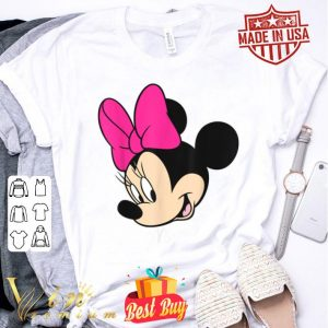 Disney Mickey And Friends Minnie Mouse Big Face shirt
