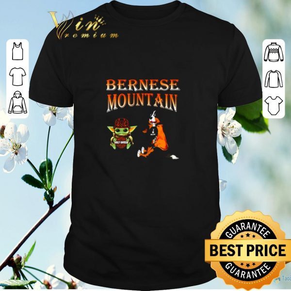 Funny Baby Yoda Motor Harley Davidson Cycles Bernese Mountain shirt sweater