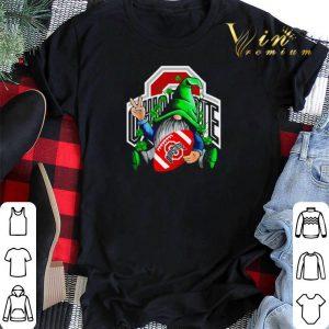 Gnomes hug Ohio State Buckeyes St. Patrick's day shirt sweater 1