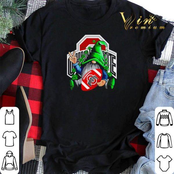 Gnomes hug Ohio State Buckeyes St. Patrick's day shirt sweater