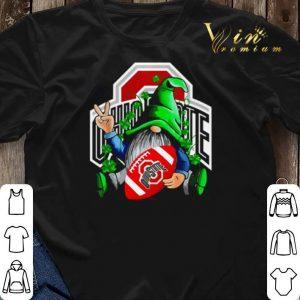 Gnomes hug Ohio State Buckeyes St. Patrick's day shirt sweater 2