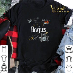Guitars The Beatles signatures drummer shirt sweater