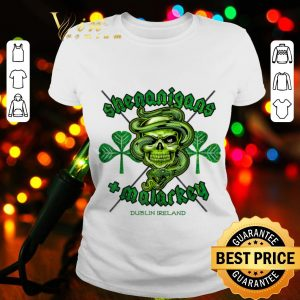 Mens Shenanigans + Malarkey St Patrick's Day T-shirt