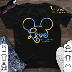 Mickey mouse love Down Syndrome awareness shirt sweater