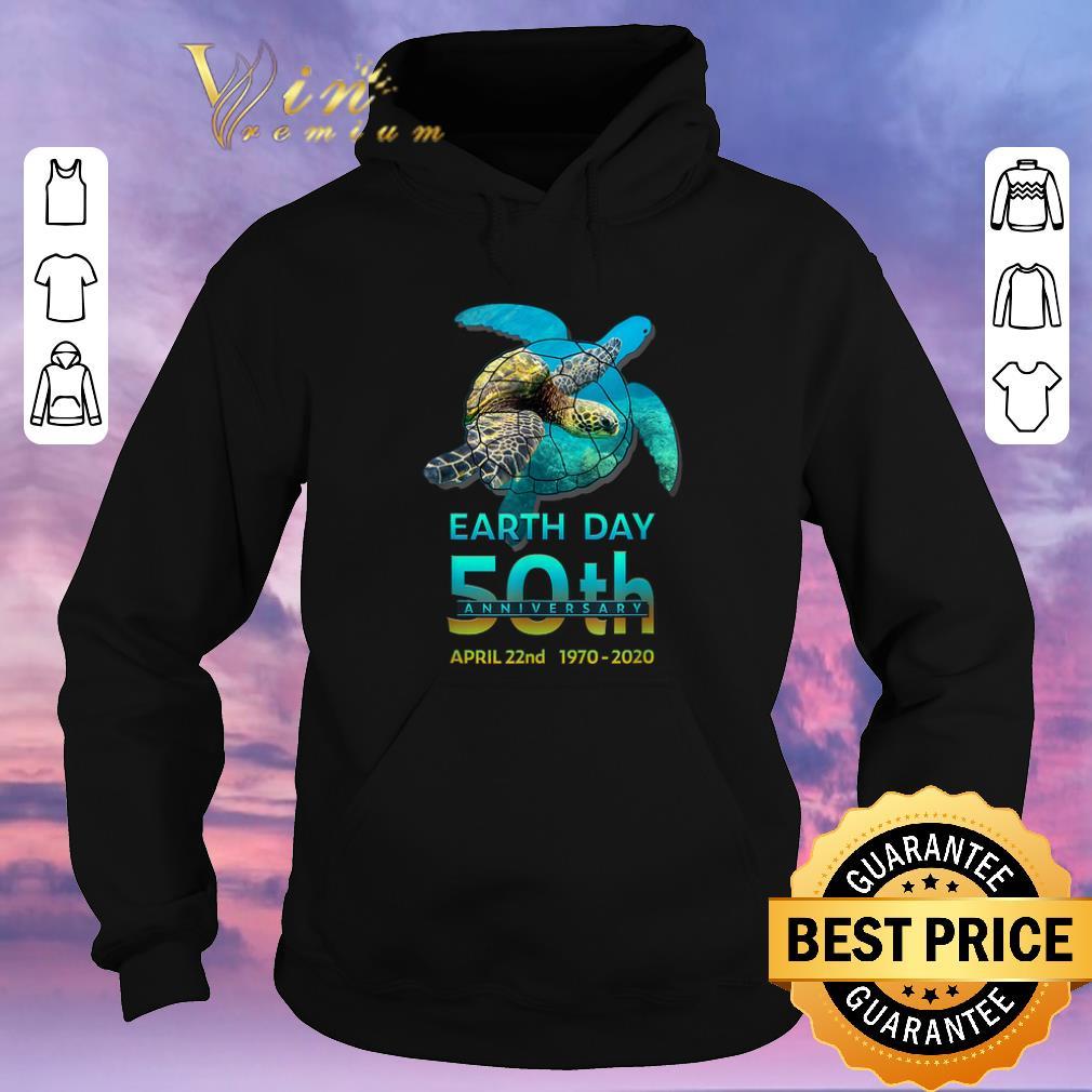 Nice Sea Turtle earth day 50th anniversary april 22nd 1970 2020 shirt sweater 4 - Nice Sea Turtle earth day 50th anniversary april 22nd 1970-2020 shirt sweater