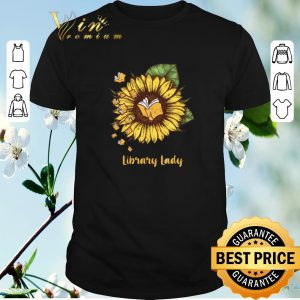 Nice Sunflower Books Library Lady shirt sweater