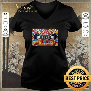 Official Central Perk Friends TV show signature poster shirt sweater