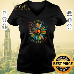 Official Flower of peace I got a Peaceful easy feeling shirt sweater