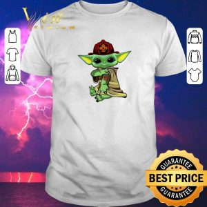 Original Baby Yoda tattoo Fireman shirt sweater