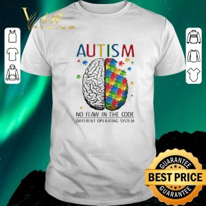 Original Brain Autism no flaw in the code different operating system shirt sweater