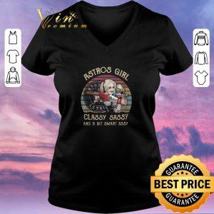 Original Houston Astros Girl Classy Sassy And A Bit Smart Assy Vintage Harley Quinn shirt sweater