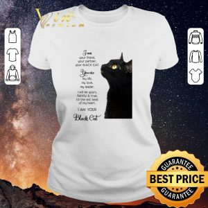 Original I am your friend your partner your black cat you are my life shirt sweater