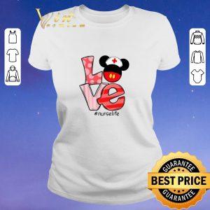 Original Love Mickey mouse Nurselife shirt sweater
