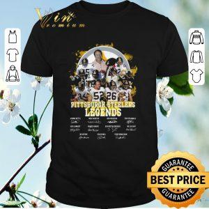 Original Pittsburgh Steelers Legends All Team Player Signatures shirt sweater
